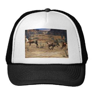 Cavalos de galope bone