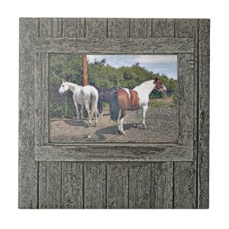 Cavalos de madeira 1 da parede