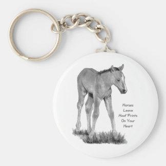 Cavalos do amor: Hoofprints em seu coração: Lápis Chaveiros