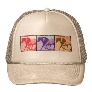 Cavalos do pop art boné