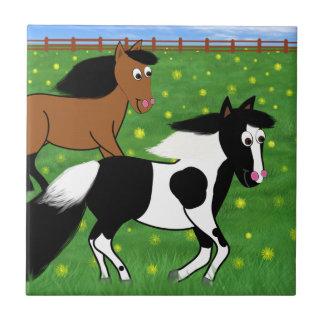 Cavalos dos desenhos animados que funcionam no