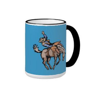 cavalos dos vaqueiros do rodeio png_cowboys_416200 caneca