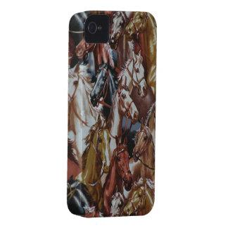Cavalos ocidentais selvagens Blackberry 9700/9780 Capinha iPhone 4