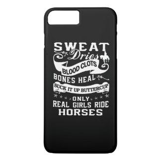 Cavalos reais do passeio das meninas capa iPhone 7 plus