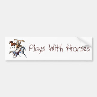 Cavalos Running Adesivo Para Carro