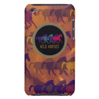 cavalos selvagens bonitos capa para iPod touch