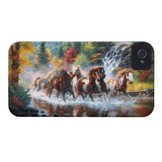 Cavalos selvagens capa para iPhone