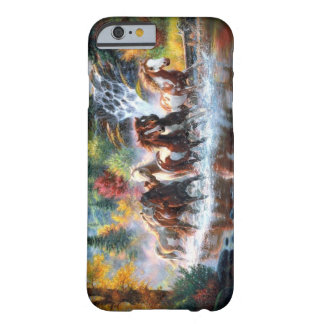 Cavalos selvagens capa barely there para iPhone 6