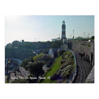 Cave a aproximação & a torre de Smeaton, cartão de