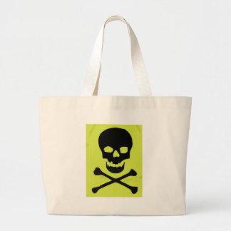 Caveira amarela bolsas