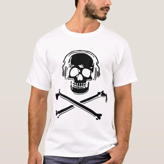 caveira camiseta