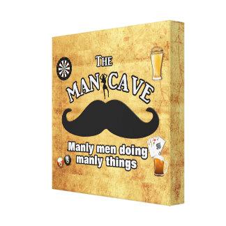 Caverna do homem -- Arte das canvas