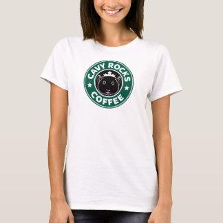Cavy Rocks Coffee Tee Camiseta