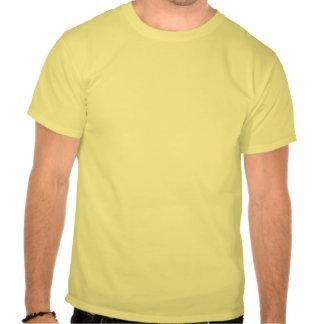 Cay da baía do algodão, Bahamas com brasão Tshirts