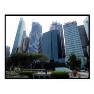 cbd de singapore cartão postal