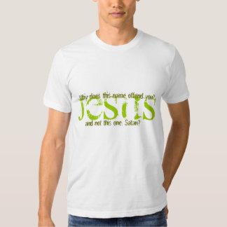 ccs, por que este nome ofende-o? Jesus. camisa Camisetas