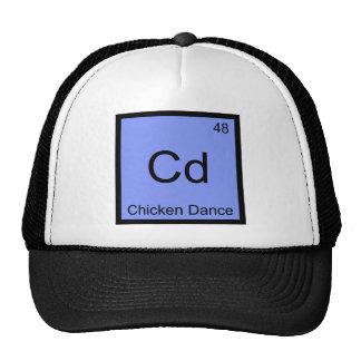 Cd - T do símbolo do elemento da química da dança Bones