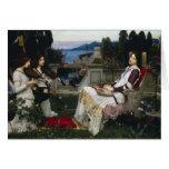 Cecilia por John William Waterhouse Cartões