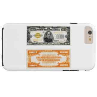 Cédula 1934 do certificado do ouro $10.000 capas iPhone 6 plus tough