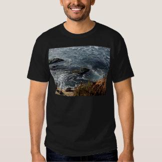 Cegonha temático, cegonhas que olham os maremotos camiseta