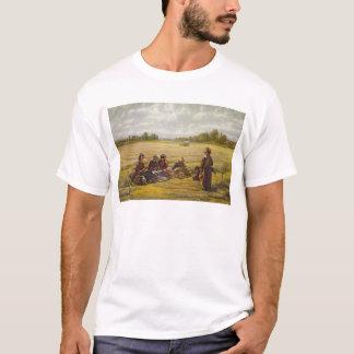 Ceifeira que descansam no Sun, Berkshire, 1865 Camiseta