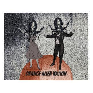 Celebração da dança dos aliens