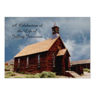 Celebração da igreja histórica velha do convite da