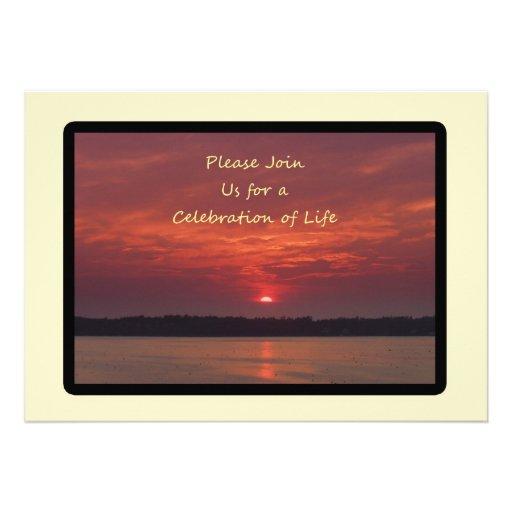 Celebração de convites da vida