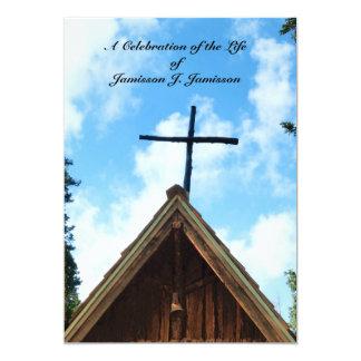 Celebração do convite da vida, igreja do país de
