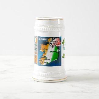 Celebração do dia de St Patrick Caneca De Cerveja