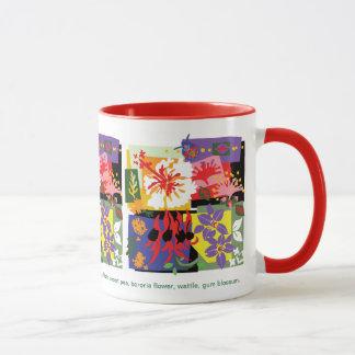Celebração floral - caneca