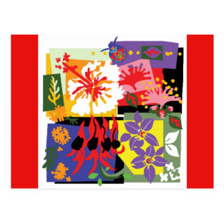 Celebração floral - cartão