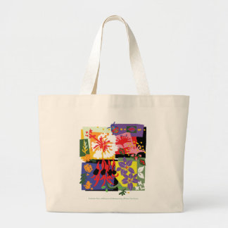 Celebração floral - o bolsa enorme