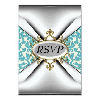 Celebração velha RSVP da festa de aniversário da Convite 8.89 X 12.7cm