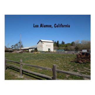 Celeiro antigo, Los Alamos, Caifornia Cartão Postal