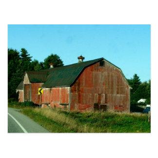 Celeiro de Vermont - cartão