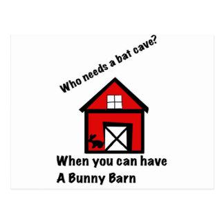 Celeiro do coelho cartão postal