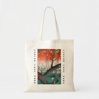 Cem vistas famosas de Edo Ando Hiroshige Sacola Tote Budget