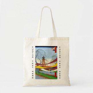 Cem vistas famosas de Edo Ando Hiroshige Bolsas