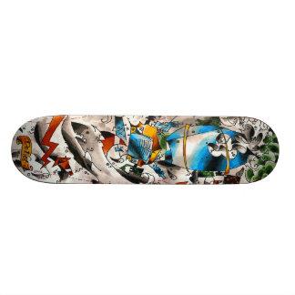 cementboard_oldschool shape de skate 20cm