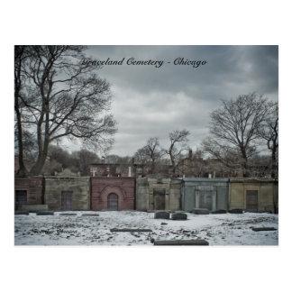 Cemitério de Graceland dos cartão - Chicago,