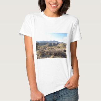 Cena 05 do deserto de Mojave T-shirts