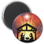 Cena cristã tradicional da natividade do Natal Ima