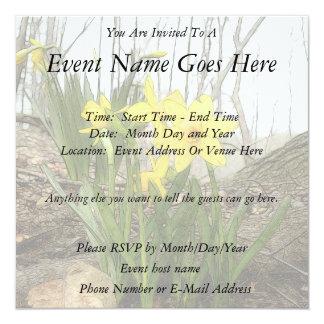 Cena da floresta - Daffodils Convites