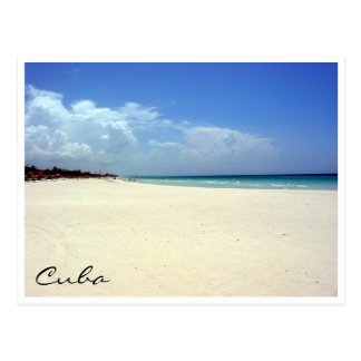 cena da praia de varadero cartoes postais