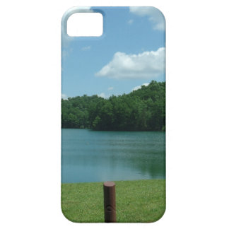 Cena do lago day de verão capa barely there para iPhone 5