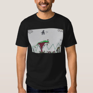 Cena do safari de Jack T-shirts