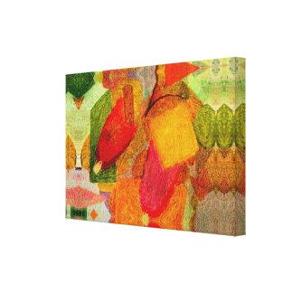 cena representativa impressão em canvas