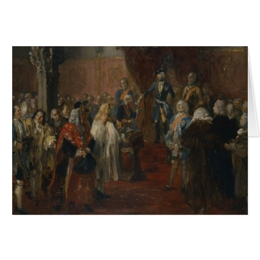 Cena Silesian da homenagem, 1855 Cartoes