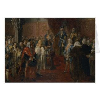 Cena Silesian da homenagem, 1855 Cartão Comemorativo